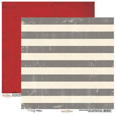 Scrapbooking  Yours Truly Stripe Paper Collections 12x12