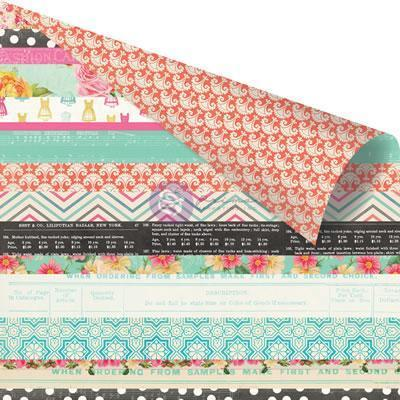 Scrapbooking  Anna Marie Jelly Roll Paper 12x12 Prima Marketing