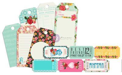 Scrapbooking  Anna Marie Tickets and Tags Prima Marketing
