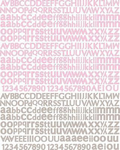 Scrapbooking  Meadow Lark Alphabet Stickers Prima Marketing