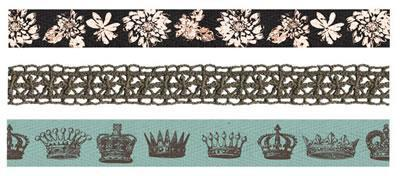 Scrapbooking  Natures Garden Ribbon and Lace Trim Prima Marketing