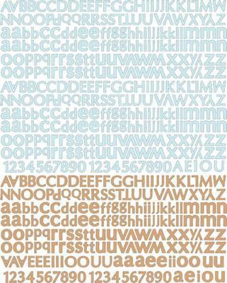 Scrapbooking  Prima Fairy Belle Alphabet Stickers Prima Marketing