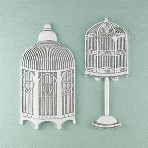 Scrapbooking  PRIMA Shabby Chic Metal Treasures HUTCHES Prima Marketing