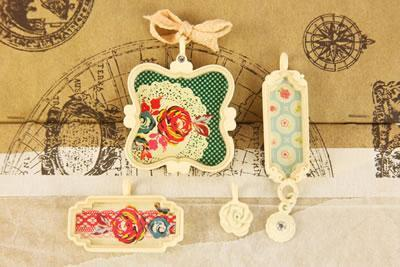 Scrapbooking  Rosarian Trinkets Prima Marketing