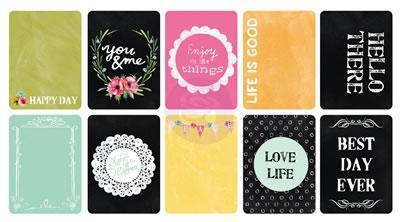 Scrapbooking  The  Optimist - 3x4 ATC Cards 30pc Prima Marketing
