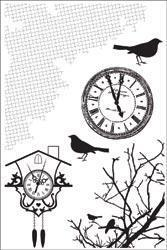 Scrapbooking  13th hour Clear Stamps Stamps