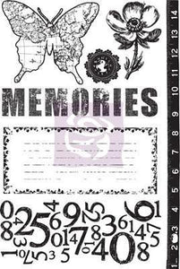 Scrapbooking  Engraver 4x6 inch Cling Mount Stamps Stamps