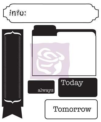 Scrapbooking  Engraver Clear Acrylic Stamp no3 Stamps