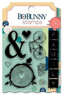 Scrapbooking  Family Is Clear Stamp Stamps