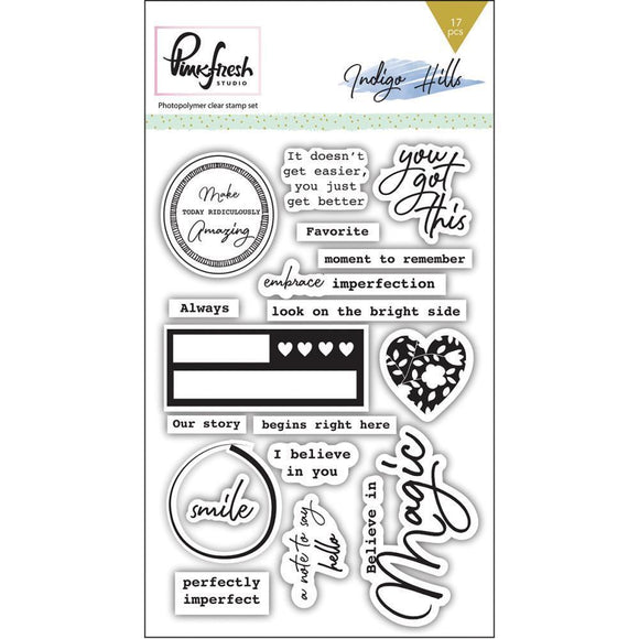 Scrapbooking  Indigo Hills Clear Photopolymer Stamps 4