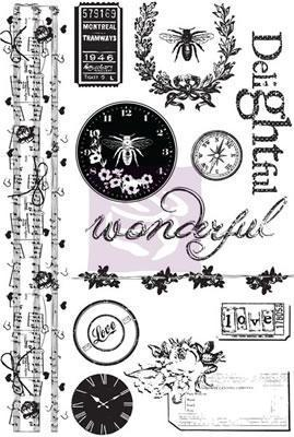 Scrapbooking  Lyric Cling Mount Stamps Stamps