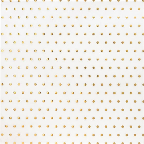 Scrapbooking  American Craft DIY Gold Dot Vellum 12x12 Paper Collections 12x12