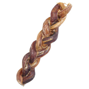EcoKind Pet Treats - Braided Bully Sticks For Dogs - All Natural Dog - Apollo Innovations
