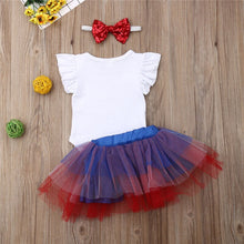 Load image into Gallery viewer, Fashion Newborn Baby Girl Sets 4th of July Clothes - Apollo Innovations