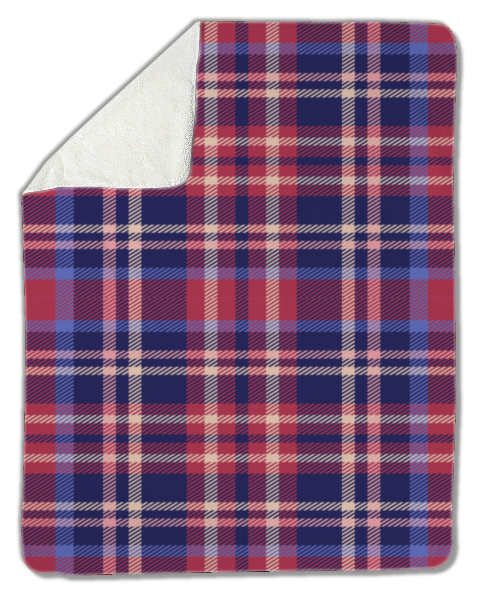 Blanket, Plaid pattern - Apollo Innovations
