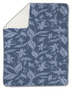 Blanket, Vintage floral pattern - Apollo Innovations