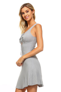 Women's Skater Tie Tank Dress - Apollo Innovations