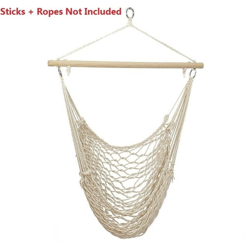 Nordic Style Hammock Chair Outdoor Indoor Garden - Apollo Innovations