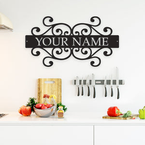 Family Name - Metal Wall Art/Decor - Apollo Innovations