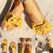 Load image into Gallery viewer, Slippers Women Summer Beach Bow Summer Sandals - Apollo Innovations