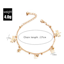 Load image into Gallery viewer, Double Chain Dragonfly Anklet - Apollo Innovations