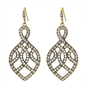 Fashion Zircon earrings encrusted - Apollo Innovations