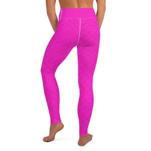 Pink Mermaid leggings, Capris and Shorts - Apollo Innovations