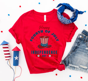 Happy Forth of July T-shirt - Apollo Innovations