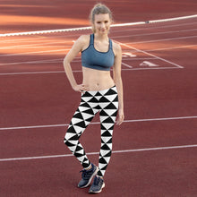 Load image into Gallery viewer, Black and White leggings, Capris and Shorts - Apollo Innovations