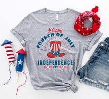 Load image into Gallery viewer, Happy Forth of July T-shirt - Apollo Innovations