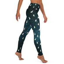 Load image into Gallery viewer, English Bull Terrier Galaxy Dog Yoga Leggings - Apollo Innovations