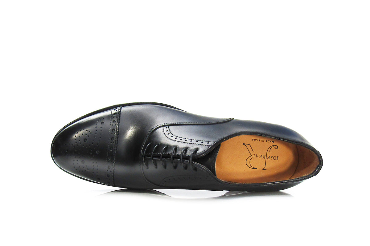 MADRID CAP TOE BLACK (C)