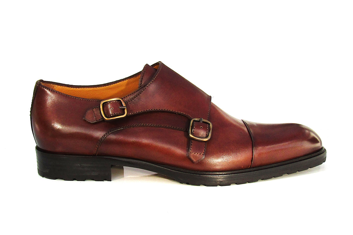 TEATRIZ DOUBLE MONK DARK BROWN (C)