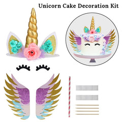 Unicorn Cake Topper Decor