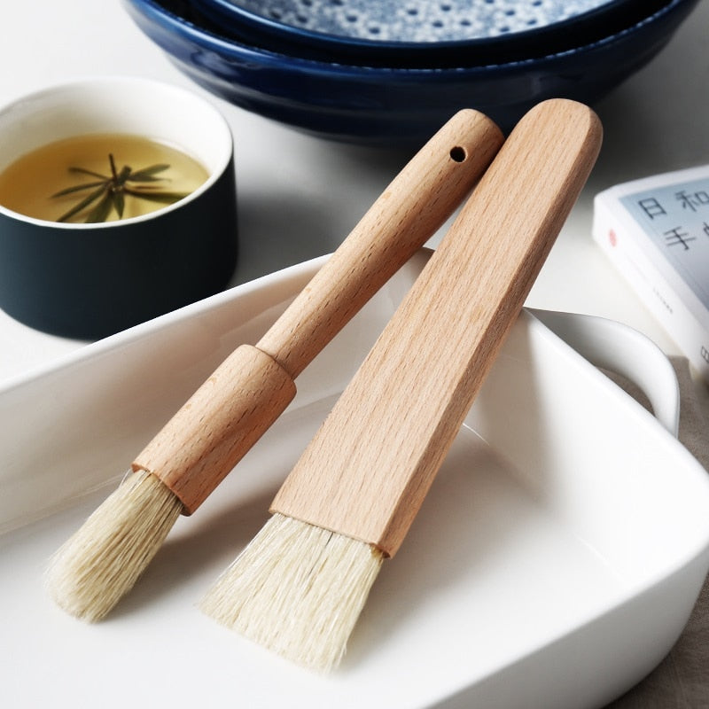 Natural Wood Pastry Brush