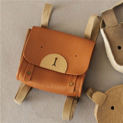 Kids Synthetic Leather Backpack