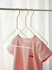 Kids Gold Clothes Hangers