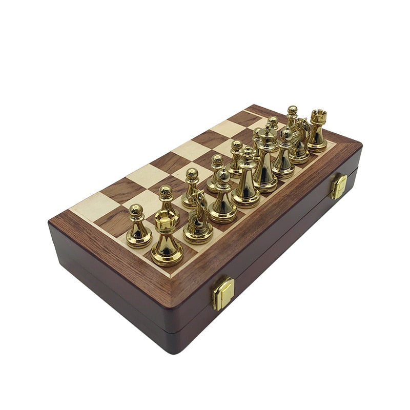 Premium Travel Metal Chess Set