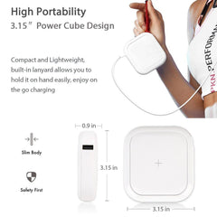 Portable Wireless Qi Power Bank
