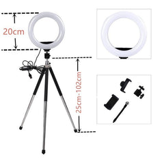 6 Inch Dimmable Studio Ring Lamp