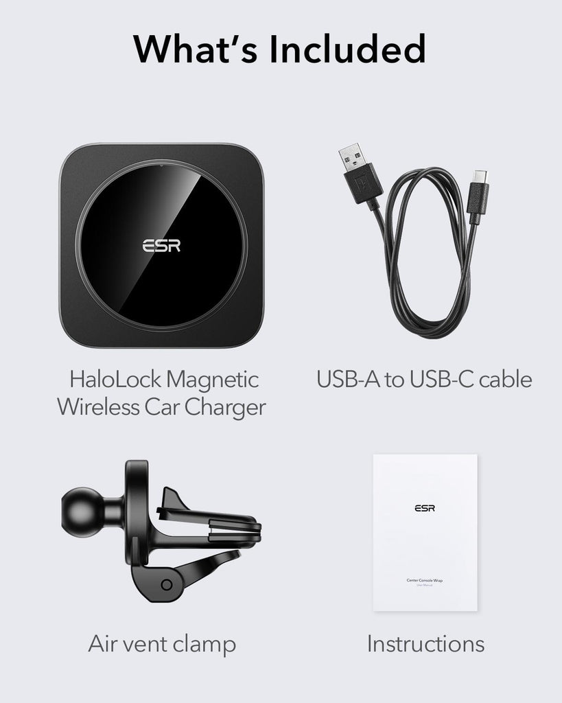 Vent Mount MagSafe Car Charger For Iphone 12