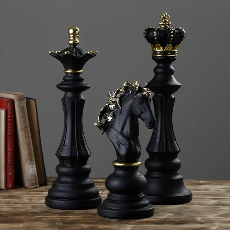 Lux Chess Ornaments