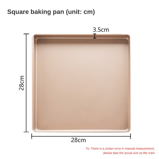 Rectangular Non-stick Baking Tray