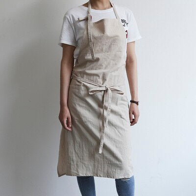 Pastel Color Cotton Apron