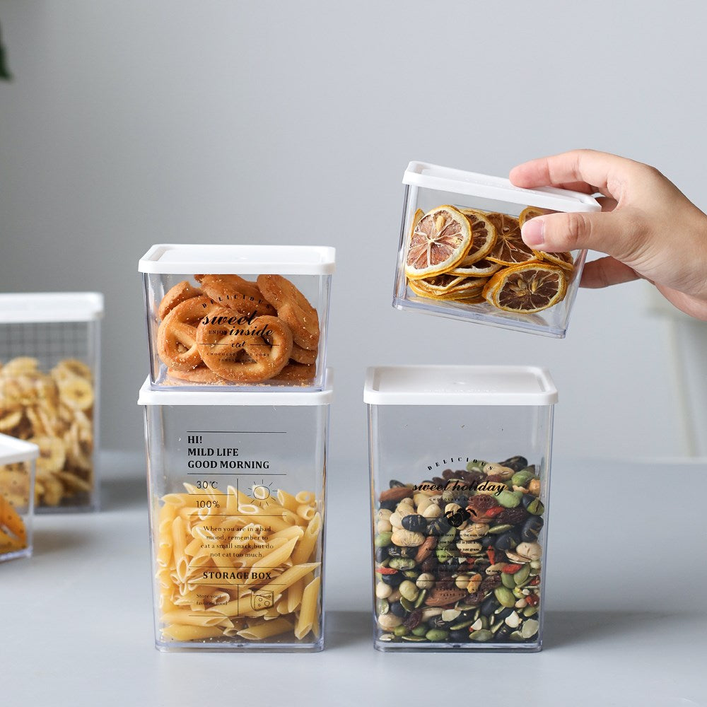 Plastic Sealed Storage Containers
