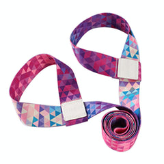 Combo Yoga Mat Strap & Stretch Band