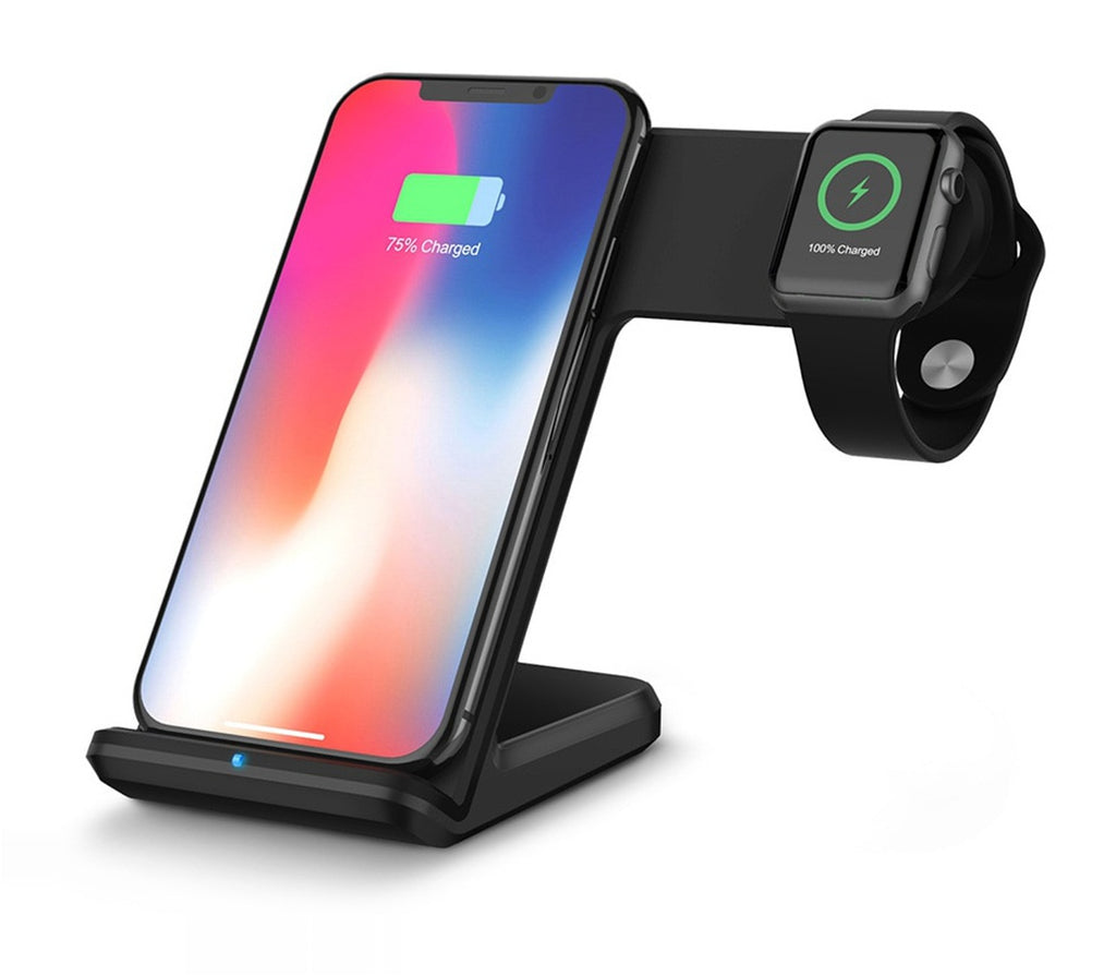 Apple Watch Phone Dual Charge Stand