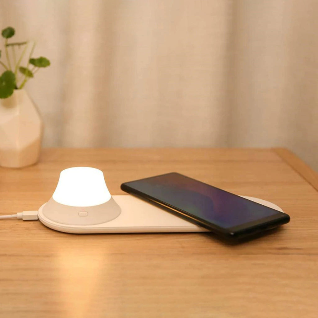 Removeable Nightlight Wireless Charge Pad