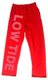 Low Tide Sweatpants | Red