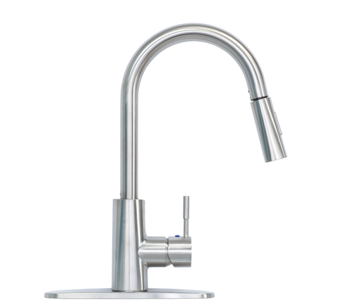 Pull Down faucet stainless steel